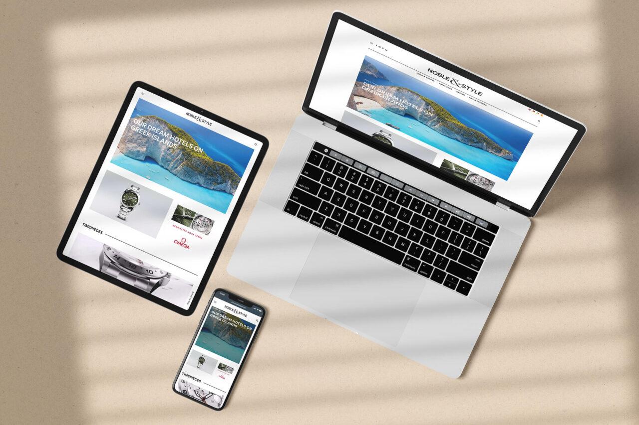 Lifestyle-Magazin Noble&Style Online Magazine