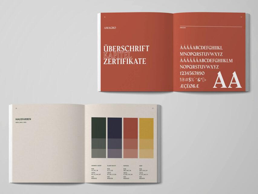 Grimms Jagdschule Branding Hunting School Branding Guide